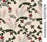 vector seamless pattern from... | Shutterstock .eps vector #522472678