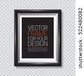picture frame. vector template... | Shutterstock .eps vector #522480082