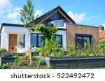 modern luxury designer home | Shutterstock . vector #522492472