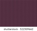vector seamless  pattern or... | Shutterstock .eps vector #522509662
