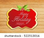 happy holiday background  vector | Shutterstock .eps vector #522513016