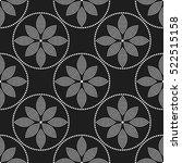 tiled seamless geometric... | Shutterstock .eps vector #522515158