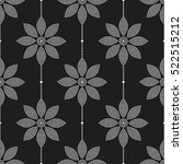 tiled seamless geometric... | Shutterstock .eps vector #522515212