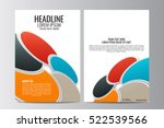 abstract flyer design... | Shutterstock .eps vector #522539566