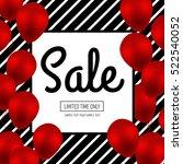 sale banner template design... | Shutterstock .eps vector #522540052