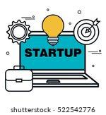 business start up flat icons | Shutterstock .eps vector #522542776