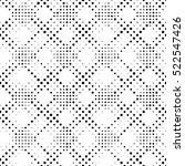 seamless circle pattern. vector ... | Shutterstock .eps vector #522547426