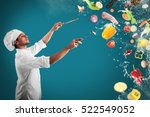 food musical harmony | Shutterstock . vector #522549052
