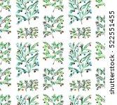 christmas trees ornament ... | Shutterstock . vector #522551455