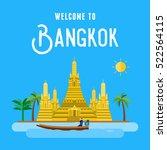 Flat Design  Wat Arun   The...