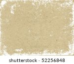 vector texture of the old paper | Shutterstock .eps vector #52256848