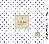 jam label. swatch pattern...   Shutterstock .eps vector #522578518