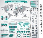 oil industry icon set and... | Shutterstock .eps vector #522588286
