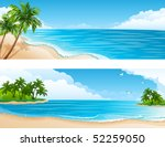 vector illustration   tropical... | Shutterstock .eps vector #52259050
