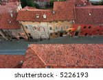 ancient street from the tower... | Shutterstock . vector #5226193