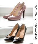 Pink Pointy Patent Female...