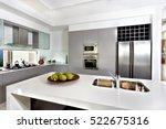 counter top made in ceramic... | Shutterstock . vector #522675316