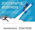 vector template. minimalist... | Shutterstock .eps vector #522675538