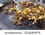 street food on a fire | Shutterstock . vector #522690976