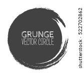 vector grunge circle. element... | Shutterstock .eps vector #522702862