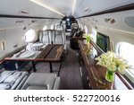 Small photo of Luxury interior in the modern private business jet