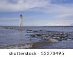 New Brighton Lighthouse On The...