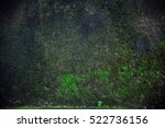 Dark And Wet Concrete Wall Wit...