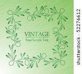 vintage background | Shutterstock .eps vector #52276612