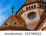 square reformed church.budapest. | Shutterstock . vector #522789022