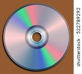 illustration of a compact disc  ...