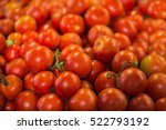Pile Of Tomatoes Background.