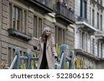 new york city   november 24... | Shutterstock . vector #522806152
