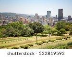 johannesburg cityscape as seen... | Shutterstock . vector #522819592