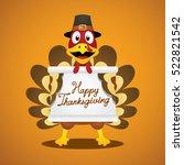 thanksgiving day. | Shutterstock .eps vector #522821542