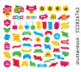 web stickers  banners and... | Shutterstock . vector #522826762