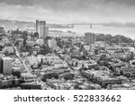 Aerial View Of San Francisco...