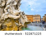 Four Rivers Fountain In Piazza...