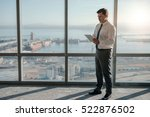 mature businessman wearing a... | Shutterstock . vector #522876502
