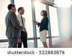 group of successful... | Shutterstock . vector #522883876