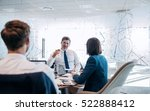group of successful... | Shutterstock . vector #522888412