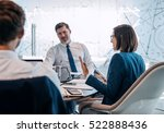 group of successful... | Shutterstock . vector #522888436
