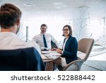 group of successful... | Shutterstock . vector #522888442