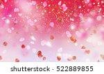 beautiful pink purple... | Shutterstock . vector #522889855