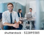 portrait of a confident young... | Shutterstock . vector #522895585