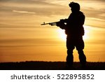 Military Soldier Silhouette...