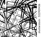 grunge geometric overlay... | Shutterstock .eps vector #522909436