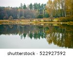 lake in forest | Shutterstock . vector #522927592