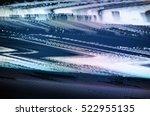 glitch tv screen | Shutterstock . vector #522955135