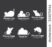Mouse Logo Design Template....