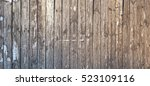 grey barn wooden wall planking... | Shutterstock . vector #523109116